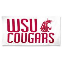 Washington State Cougars Beach Towel