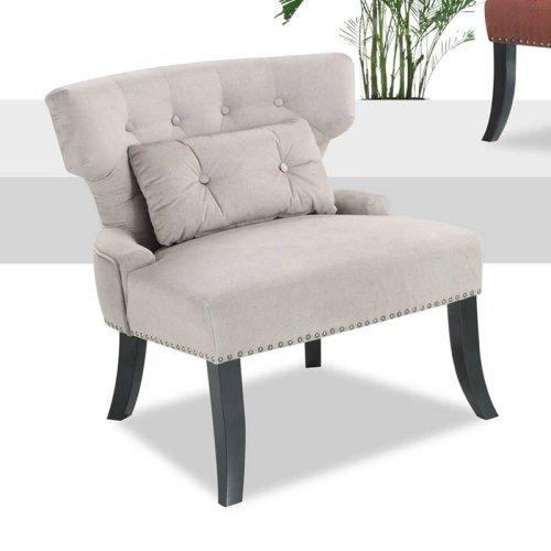 Emerald Home Furnishings U300KD-05-09 Lucinda Accent Chair - Sand