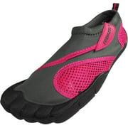 Fresko Womens Water Sports Aqua Shoes with Toes, L1009 Fuchsia / 5 B(M) US