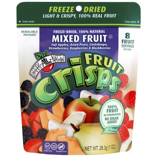 Brothers All Natural Mixed Fruit Fruit Crisps, 1 oz