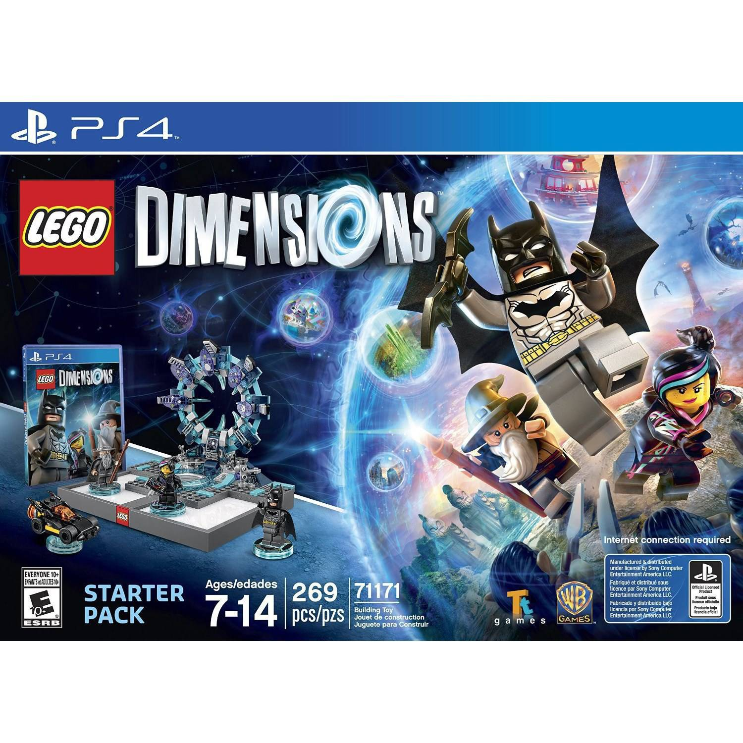 Lego Dimensions Starter Pack (Playstation 4) by TT Games Ltd