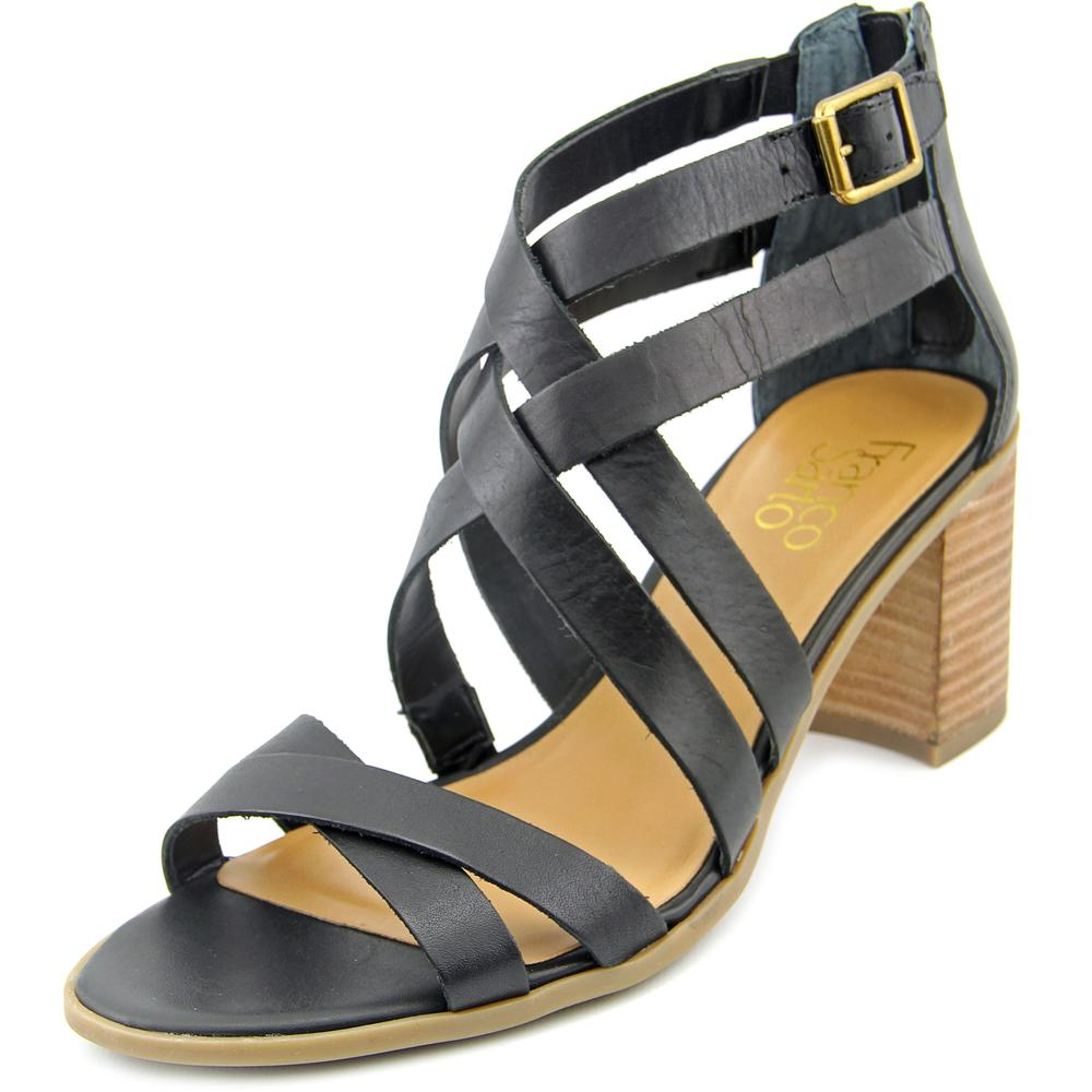 Franco Sarto L-Hachi Open Toe Leather Gladiator Sandal by Franco Sarto