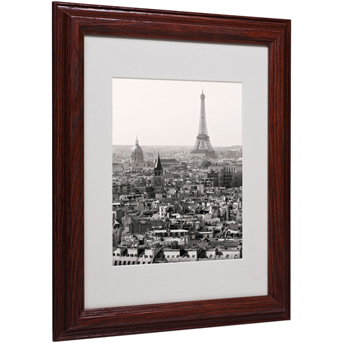"Trademark Fine Art ""Paris"" Matted Framed Art by Pierre Leclerc"