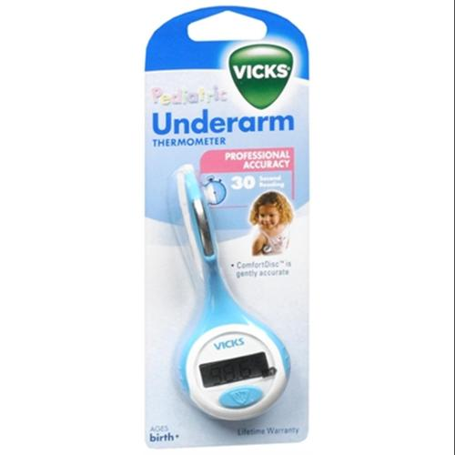 Vicks Underarm Thermometer V932F 1 Each (Pack of 2)
