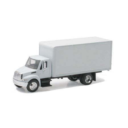 1:43 Scale Die-Cast White International 4200 Straight Truck