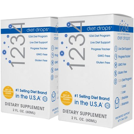 Product of Creative Bioscience 1234 Dietary Supplement Drops, 2 pk./2 fl. oz. [Biz