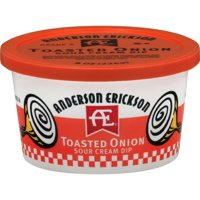 Anderson Erickson Toasted Onion Sour Cream Dip, 8 Oz.