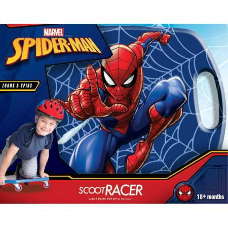 Marvel Spider-Man Scoot Racer Caster Board