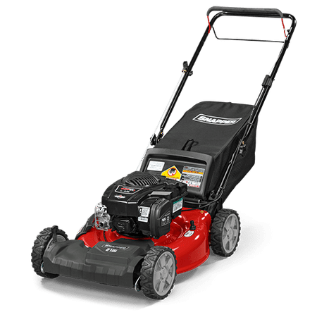 Snapper 21'' Front-Wheel Drive Self Propelled Gas Lawn Mower with Briggs & Stratton Engine, Side Discharge, Mulching, Rear (Mower Engine)