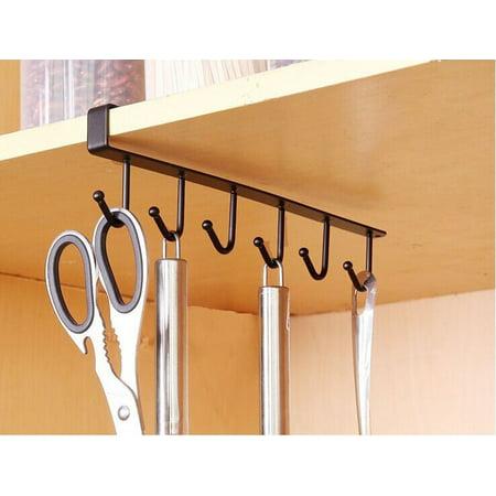Smart Novelty Kitchen Storage Rack Cupboard Hanging Hook Hanger Chest Storage Organizer Holder](Novelties Store)