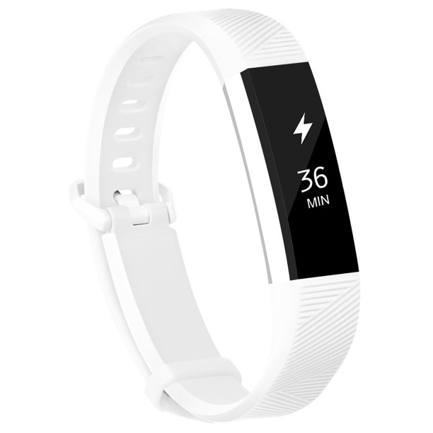 Fitbit Alta Bands Fitbit Alta Hr Strap Adjustable Replacement Wrist Bands Soft Silicone Material Strap White Small Walmart Com Walmart Com
