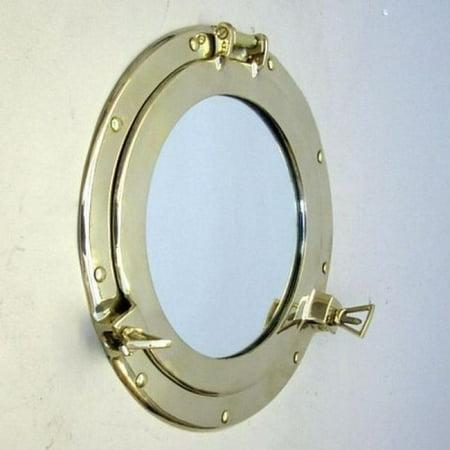 India Overseas Trading Mr4870   Brass Porthole Mirror  11
