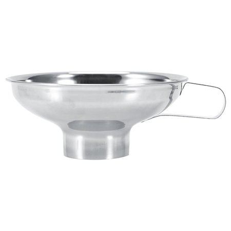 High Quality Stainless Steel Household Wide Mouth Canning Jars Funnel With Handle Kitchen Tools, Wide Mouth Funnel, Wide Mouth Funnels - Tiny Funnel