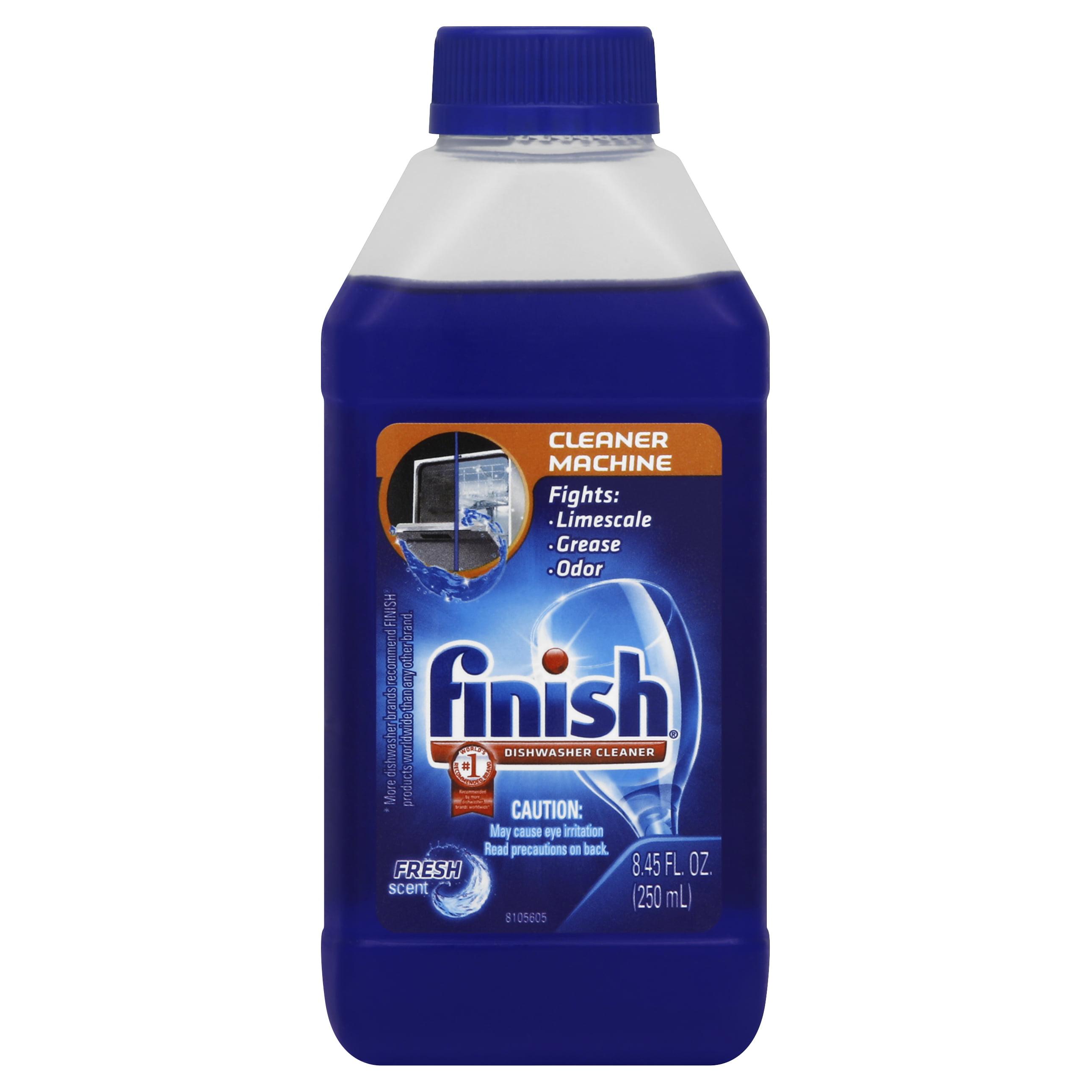 Finish Dishwasher Cleaner Solution Liquid, Liquid Fresh, 8.45 Ounces