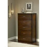 Modus Furniture International Modera 5-Drawer Chest, Chocolate Brown