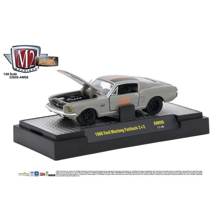 M2 Machines Auto-Mods Release AM06 1:64 1968 Ford Mustang Fastback 2+2  17-46