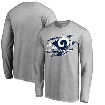 593678eba839d Los Angeles Rams NFL Pro Line True Colors Long Sleeve T-Shirt - Ash -  Walmart.com