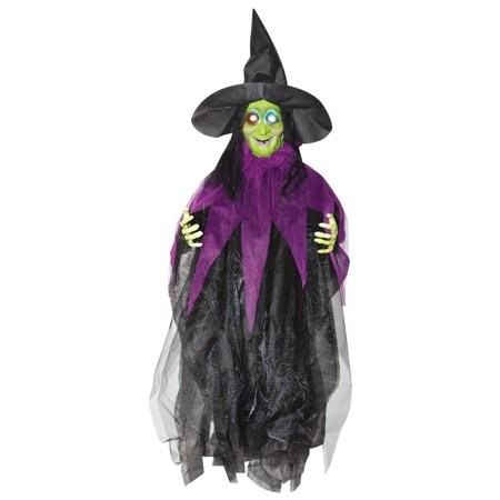 3' Hanging Light up Witch (Kitchen Witch Hanging)