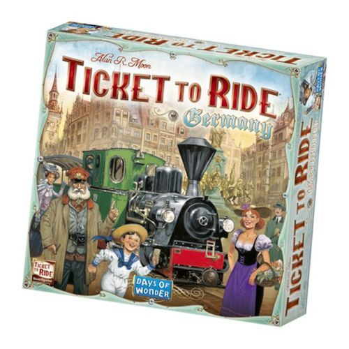 Ticket To Ride Germany Stand Alone Board Game
