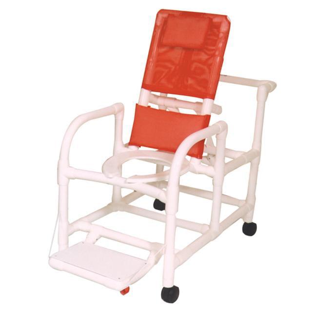 MJM International E195-3TW Echo Reclining Shower Chair