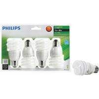Philips 4pk 13w T2 Sw Cfl Bulb 417071