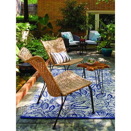62dbc2a8b406 Better Homes and Gardens Ambriz Stacking Wicker Chair - Walmart.com