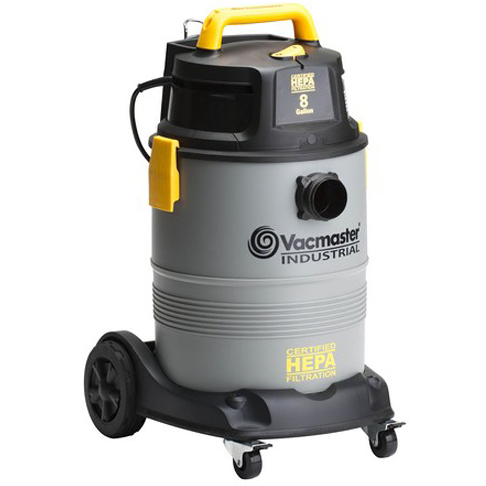 Vacmaster 8 Gallon HEPA Vac with 2 Stage Motor, VK811PH