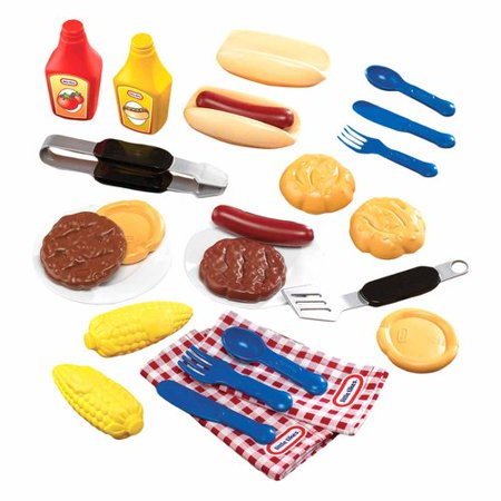 Little Tikes Backyard Barbeque Grillin Goodies Walmart Com