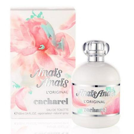 Anais Anais L'Original by Cacharel EDT 3.4 OZ for Women Anais Anais Gardenia Perfume