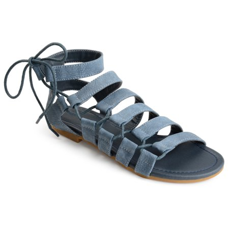 Birkenstock Taupe Arizona Sandals - Brinley Co. Women's Caged Faux Leather Strappy Gladiator Sandals