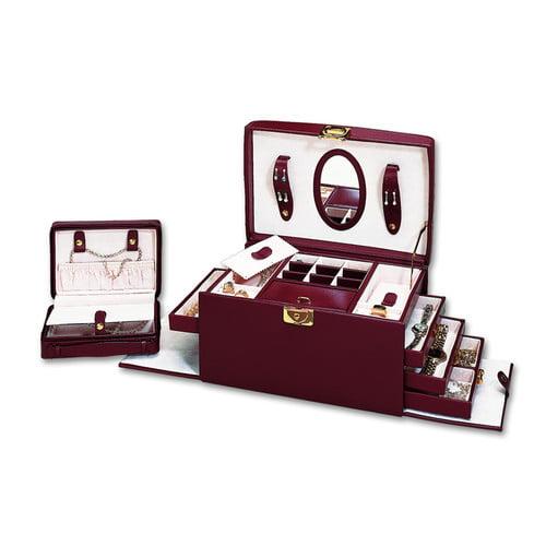 Budd Leather Ladies Classic Jewelry Box