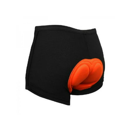 Fysho Mens 3D Padded Cycling Underwear Shorts Bike Bicycle Short Pants (Bike Shorts Men Padded)