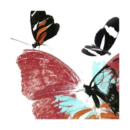 Butterflies Dance IX Print Wall Art By A. Project - Butterfly Art Projects