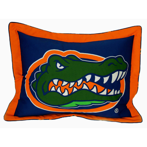 College Covers NCAA Florida Gators Pillow Sham
