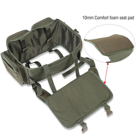 Fishing Backpack,HURRISE Fishing Seat Box Backpack Converter Roving