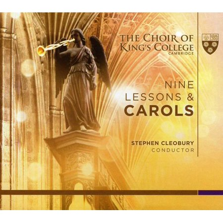 Cleobury Choir Of Kings College Cambridge   Nine Lessons   Carols  2010 Service   Cd