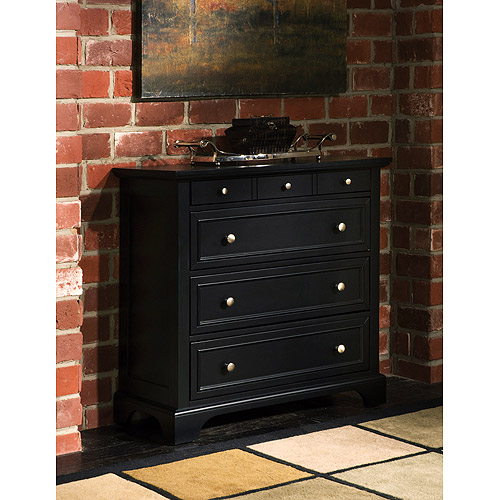 Bedford 4-Drawer Chest, Ebony
