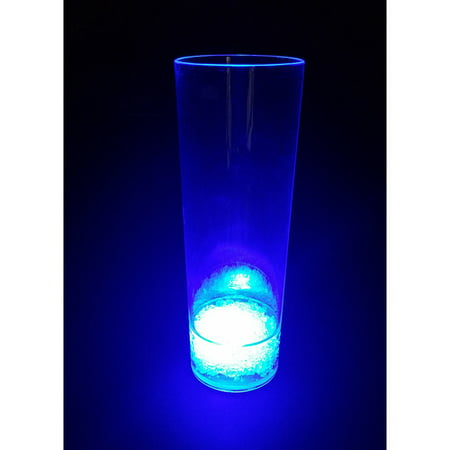 Led Drinkware (Modern Home LED Tall Cocktail Glass w/7 Colors Plus)