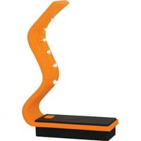 Baumgartens, BAU42640, Silicone LED Flashlight, 1 Each, Orange,Black