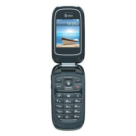 AT&T GoPhone Z221 Cell Phone, Blue - Walmart.com