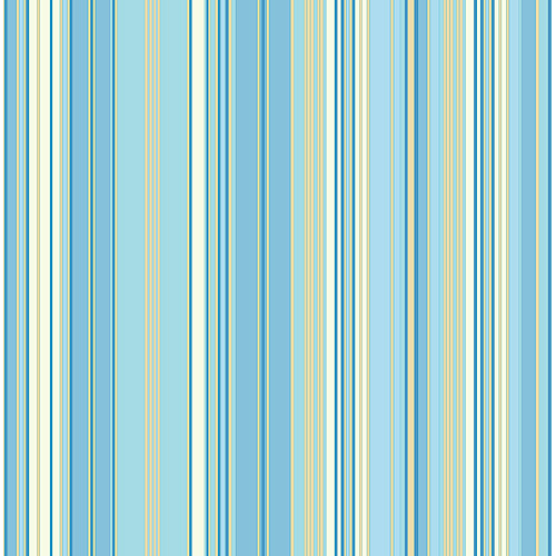 Blue Mountain Barcode Striped Wallcovering, Sky Blue