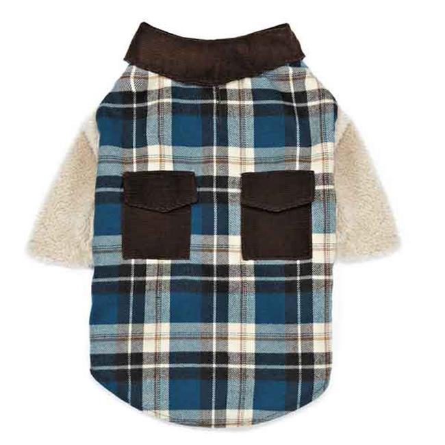 Zack & Zoey UM6705 20 Flannel Shirt Dog Shirt & Jacket - Large - image 1 of 1
