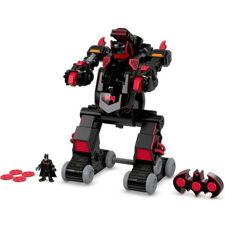Fisher Price Imaginext Dc Super Friends Rc Transforming Batbot