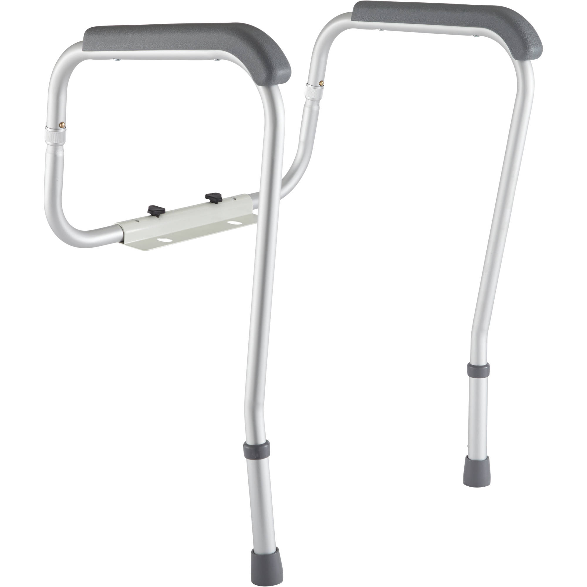 handicap bars for bathrooms toilets toilet safety medline toilet safety frame rails walmartcom