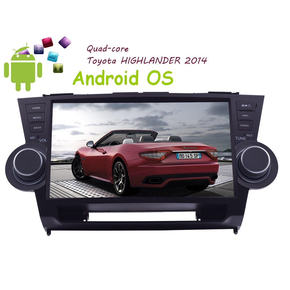 """New 10.2"""" Android4.4 Quad Core Double 2 Din Car Stereo Capacitive Multi-Touch Screen in Dash GPS Car... by EinCar"""