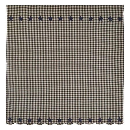 VHC Brands Star Shower Curtain