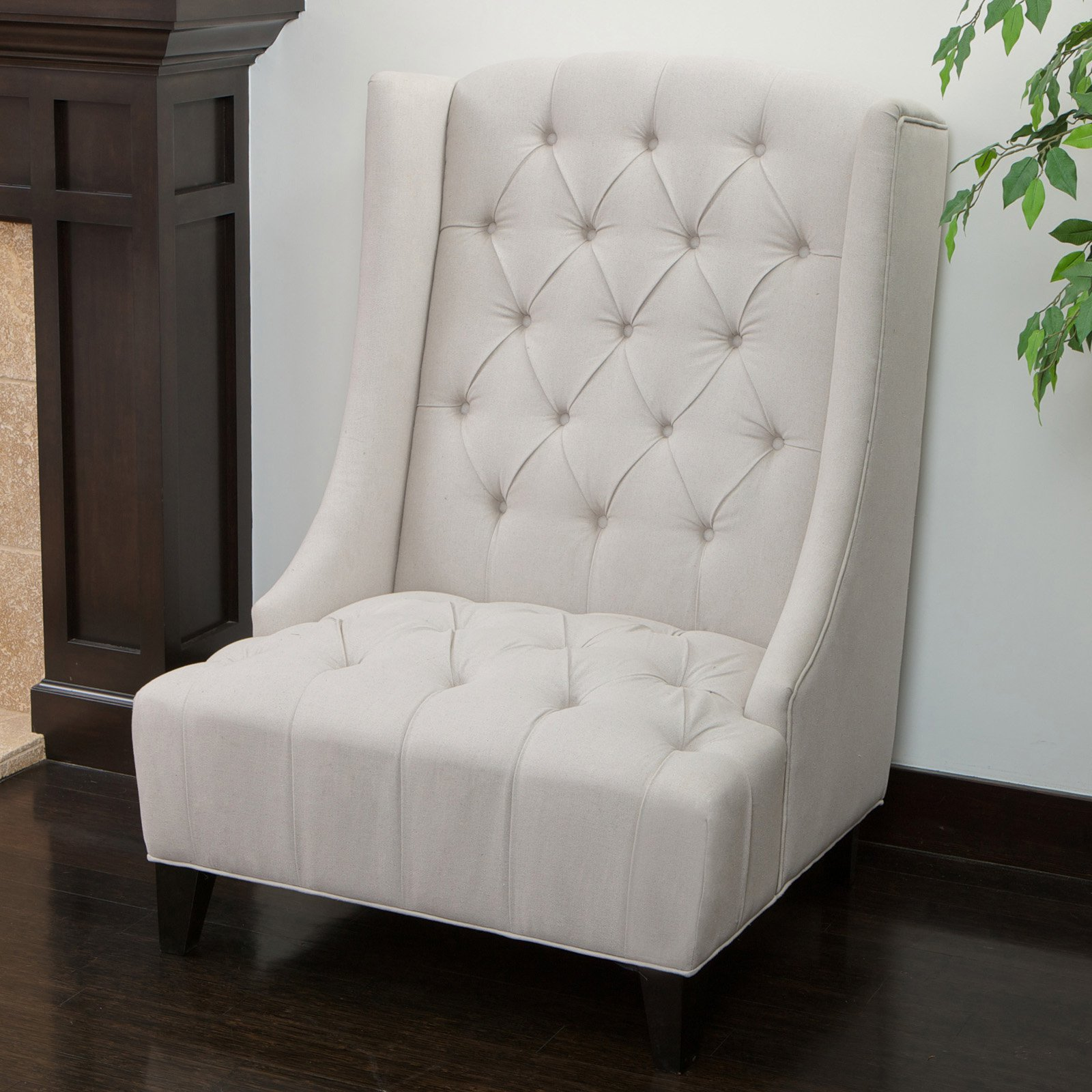 Best Selling Home Irvine Wingback Accent Chair