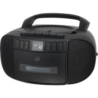 GPX Radio Boombox with CD and Cassette, BCA209B