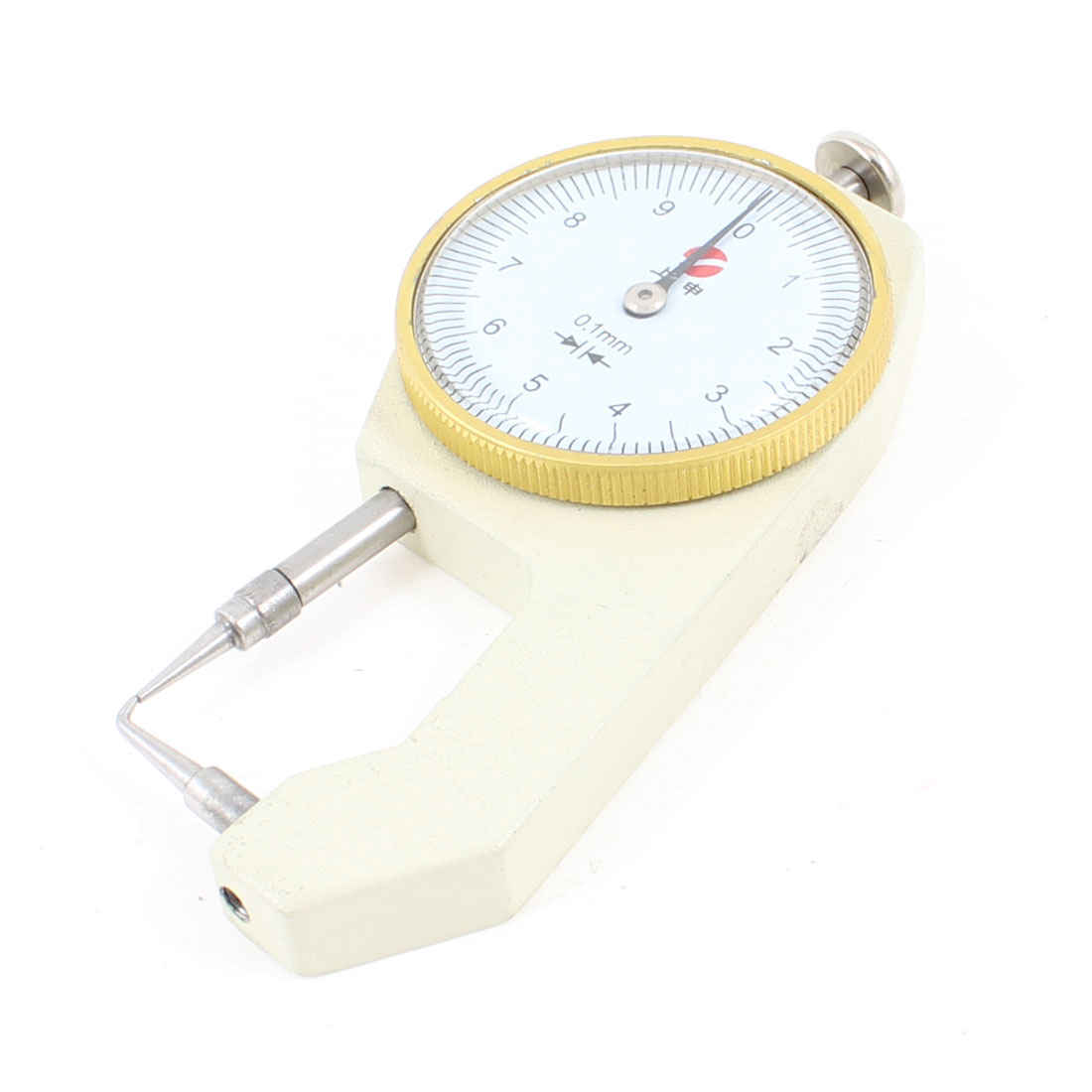 Metallic Dial Thickness Gauge Gage Measurement Tool 0 to 10mm by