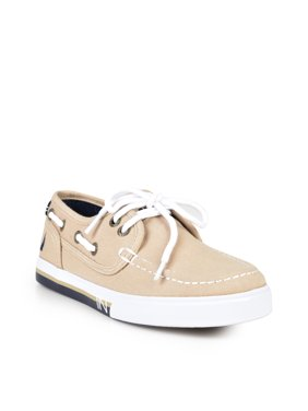 KIDS' SPINNAKER-CANVAS BOAT SHOE
